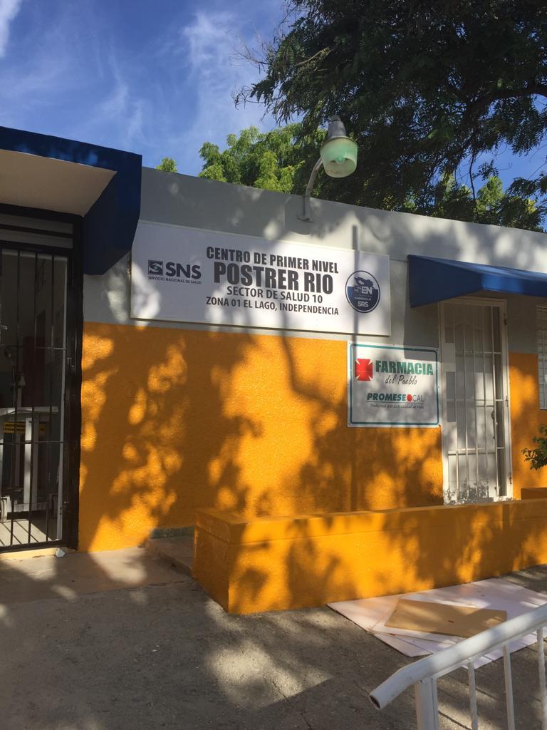Remodelación del Centro de Primer Nivel Postrer Rio, Zona de Salud 01 Lago Enriquillo, Gerencia de Área de Salud 03 Independencia