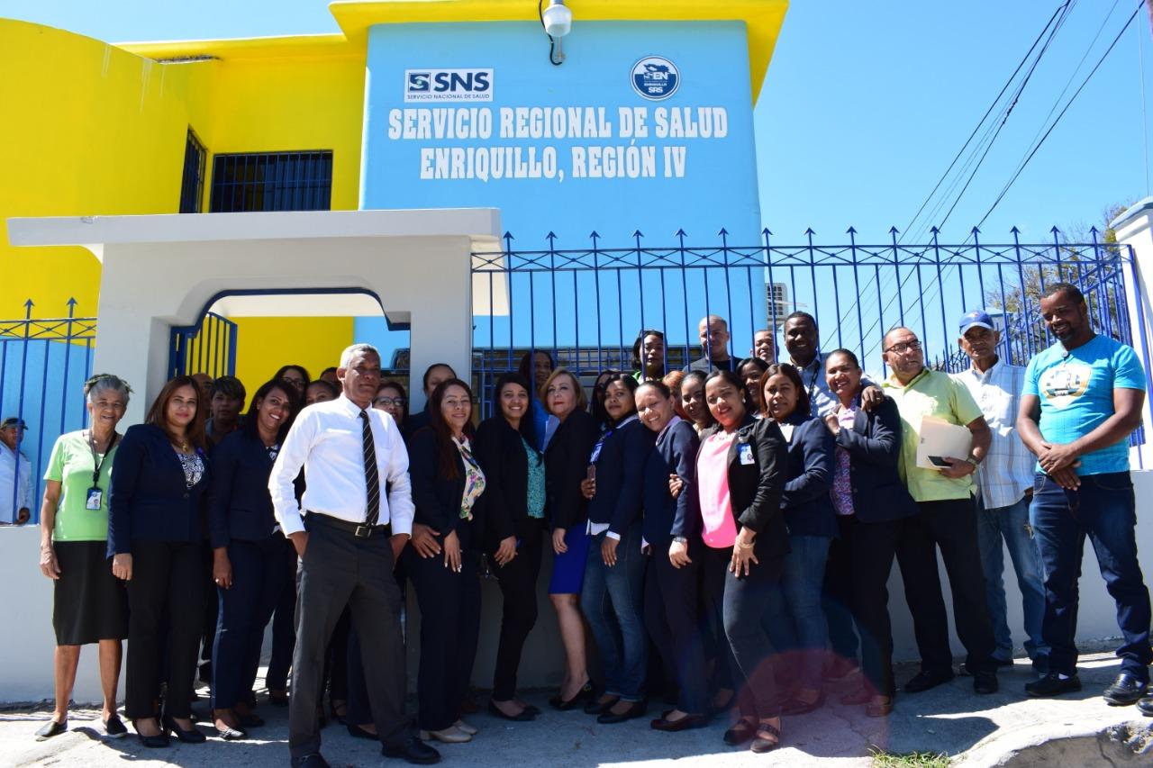 Trasladan Oficinas Administrativas de la Dirección del Servicio Regional de Salud Enriquillo.