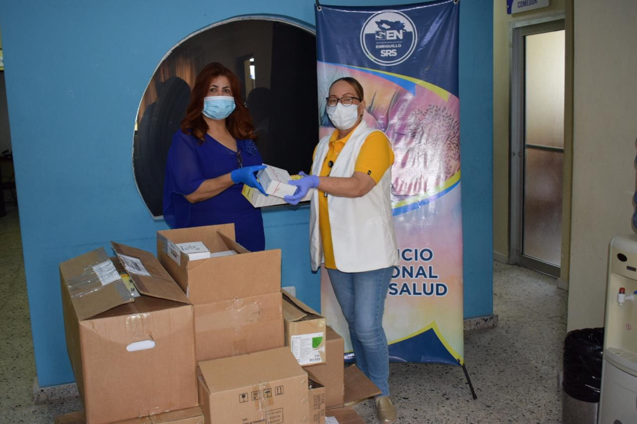 Dirección Regional de Salud Enriquillo continúa la entrega de Insumos a Centros sanitarios de la región